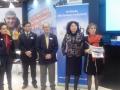 de D à G , Marie Caro (ACB) MMe Gao (Chine) Didier Renaud (CGPME) , Mr Yuwei (CNTA , tourisme Chine.