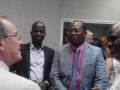 Mr Renaud (CGPME -ADAC) avce Mr Alphone Naounou ( à D) CI et Mr Pierre Deschamps ORE (CI), à Douarnenez en juillet 2016 (ACB)