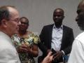 Mr Renaud et Mr Naounou, Mme Reine Roadez Poaty Consillère de l'ADAC. Douarnenez (ACB) juillet 2016